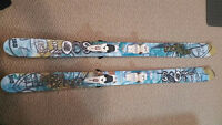 "Backcountry skis ""Scott Mega Dozer"" 185cm + Bindings ""Marker"""