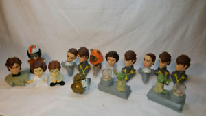 Star wars! Lot figurines kubik mcdonald burger king ewoks