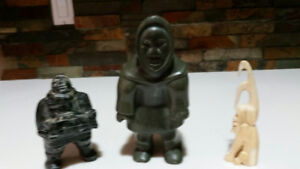 Inuit (Greenland) Carvings (3)