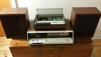 PANASONIC Systeme complet : Speakers enregistreuse cassette deck