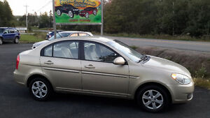 2008 Hyundai Accent 4 DR SEDAN