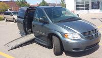 2007 Dodge Grand Caravan Wheelchair Accessible Minivan, Van