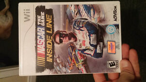 Nascar the game for nintendo wii
