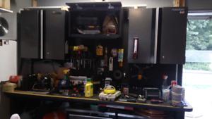 Husky tool storage and Craftsman table