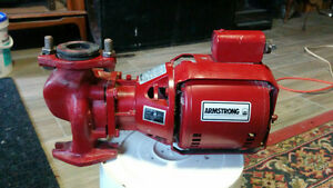 Amstrong water circulating pump for an furnace