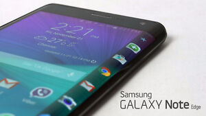 Samsung Galaxy Note Edge With Extras!