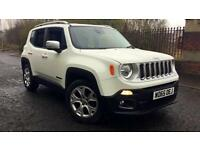 2015 Jeep Renegade 1.6 Multijet Limited 5dr Manual Diesel Hatchback