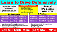 Learn to Drive with Professional Driving Instructor.......