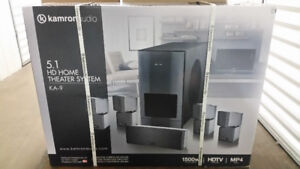 New Karmon Audio 5.1 Surround Sound Home Theater Speakers