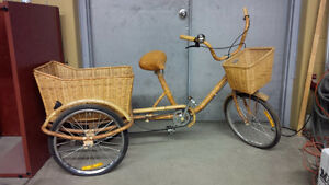 Wicker Bike / Display Piece