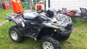 2009king guad trading for a smaller cc quad