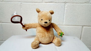 Winner the Pooh musical movable vintage bear Baby Shower Gift