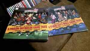 Zombicide Game map packs. Sealed.