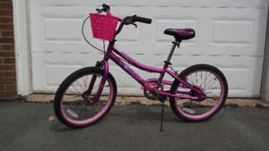 Girl's 20-inch bicycle