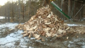 Firewood $100 all can put on your pickup softwood firewood