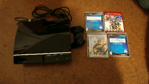 PS3 Console +Games