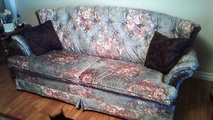 Three piece livingroom set for sale