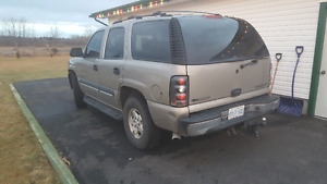 2002 Chevrolet Tahoe No Rust No Check Engine Lights on