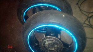 new tires with rims