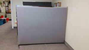 Office Partition Panels 7 Free Standing  Desk or Room Dividers