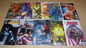 THE AVENGERS #1-11, COMPLETE SET, MARVEL COMICS, NM
