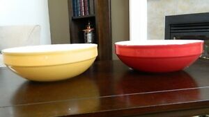 Red & Yellow Ceramic Bowls $20.00