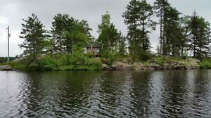 Cottage/Cabin Rental (Rustic) - Private Island