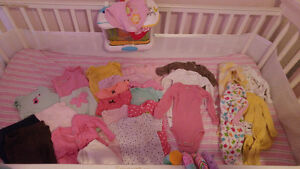Huge lot of baby girl items for sale or trade!