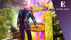 Elton John section 319 tickets