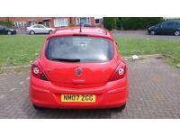 Vauxhall Corsa, full MOT 55k 1.0l, Full service history, Perfect first car, Very low insurance