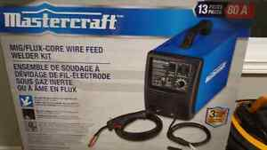 New Mastercraft Mig/Flux Core Welder