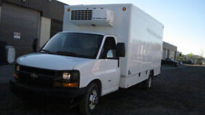 2011 Chevy Express Cutaway Reefer Cube Van 6.6l Diesel For Sale