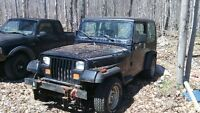 1989 Jeep yj for parts