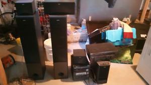 Systeme de son 5.1 sony avec ampli et lecteur CD a vendre