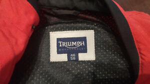 Triumph Padded Motorcycle Jacket