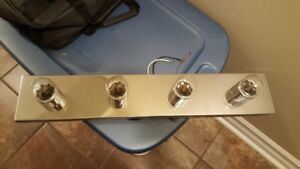 (2) 4 LIGHT FIXTURES FOR SALE!