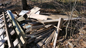 Free Mixed Lumber...Must take it all!