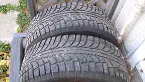 Used winter tires with Rim 235/55/R17