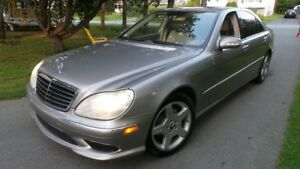 SOLD SOLD 2004 Mercedes S500 - Excellent condition