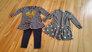 Vêtements pour fille 2 ans