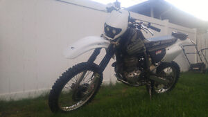 1996 honda xr400 dirt bike