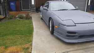 Nissan 180sx lots of up grades
