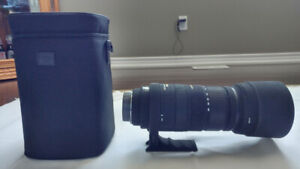 Sigma DG OS HSM 120-400mm Zoom Lens For Canon