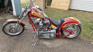 Very Nice Custom Chopper....Trades....
