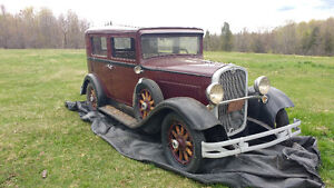 WOW HUDSON ESSEX SUPER SIX 1931 MODEL TRES TRES RARE SEULEMENT