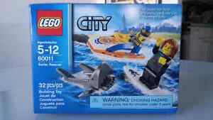 Lego City Surfer Rescue 60011 - retired set, hard to find!