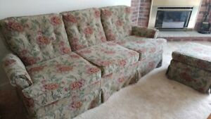 Chesterfield and chair,