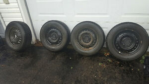 4 Nitto SN2 Winter Tires and Rims