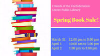 Friends of the Confederation Centre Public Library's Book Sale!