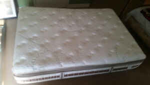 Serta perfect sleeper pillow top and box spring!